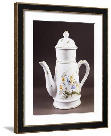 Coffee Pot--Framed Giclee Print