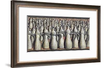 Coffee pots, 2008-PJ Crook-Framed Giclee Print
