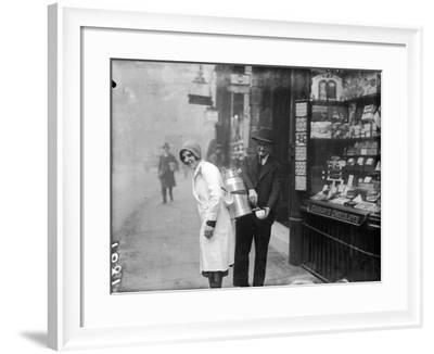 Coffee Seller 1930S--Framed Photographic Print