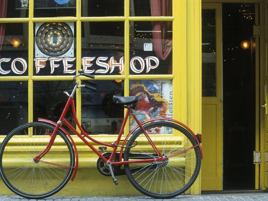 Coffee Shop, Amsterdam, Netherlands-Peter Adams-Photographic Print