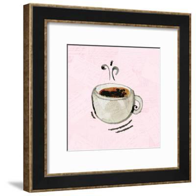 Coffee Time 1-Kimberly Allen-Framed Art Print