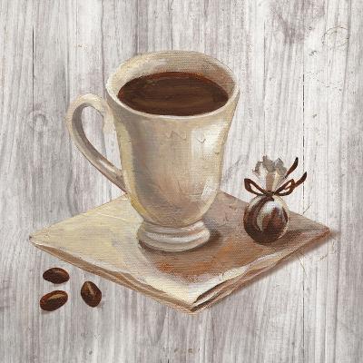 Coffee Time IV on Wood-Silvia Vassileva-Art Print