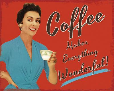 Coffee Time-The Vintage Collection-Giclee Print