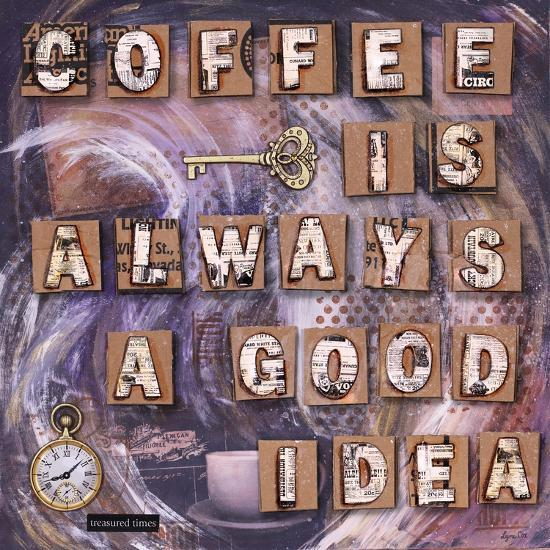 Coffee Time-Let Your Art Soar-Giclee Print
