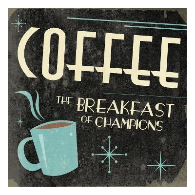 Coffee-Jace Grey-Art Print
