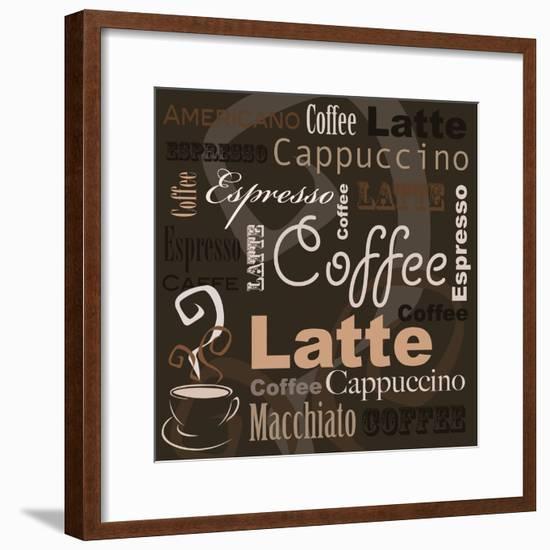 Coffee-leeser-Framed Premium Giclee Print