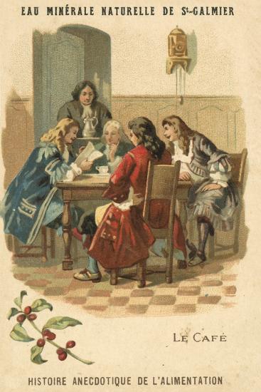 Coffee--Giclee Print