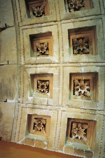 Coffered Ceiling of Tholos at Epidaurus, Greece--Giclee Print