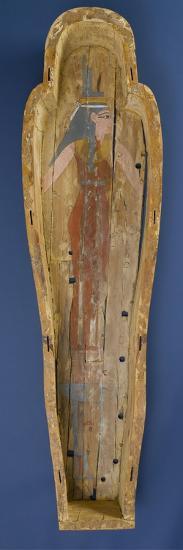 Coffin of Shep En-Mut, 800 BC--Giclee Print