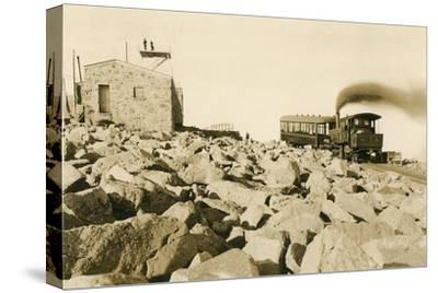 Cog Railway Locomotive, Pike's Peak, Colorado