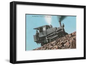 Cog Road Engine, Pike's Peak, Colorado