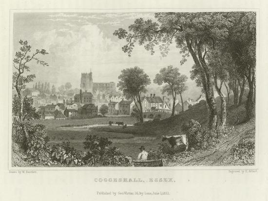 Coggeshall, Essex-William Henry Bartlett-Giclee Print