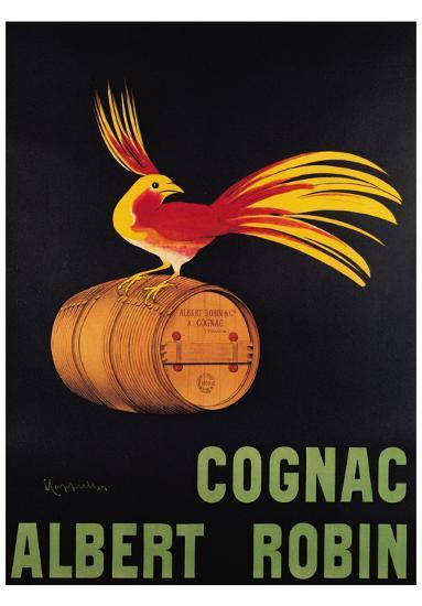 Cognac Albert Robin-Leonetto Cappiello-Art Print