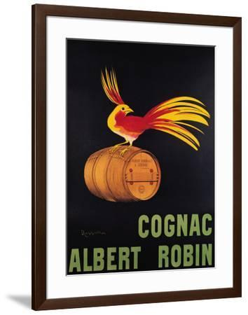 Cognac Albert Robin-Leonetto Cappiello-Framed Art Print
