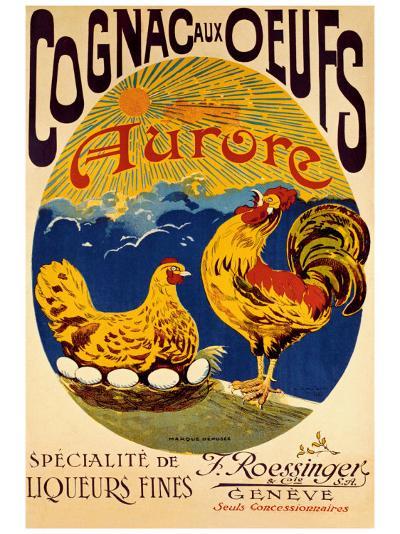 Cognac aux Oeufs--Giclee Print