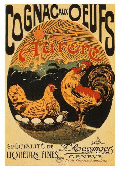 Cognac aux Oeufs--Art Print