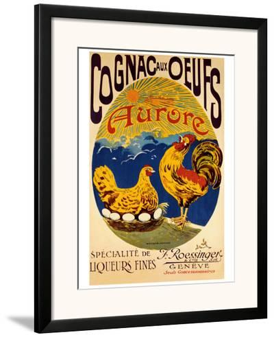 Cognac aux Oeufs--Framed Giclee Print