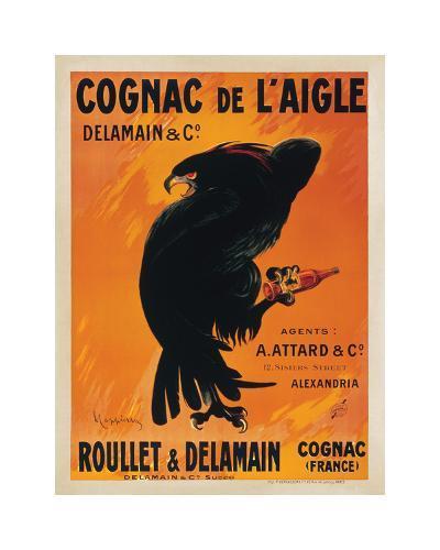 Cognac de L'Aigle-Leonetto Cappiello-Giclee Print