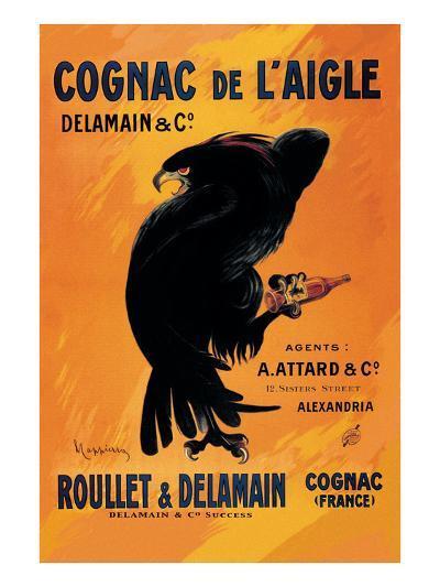 Cognac De L'Aigle-Leonetto Cappiello-Art Print