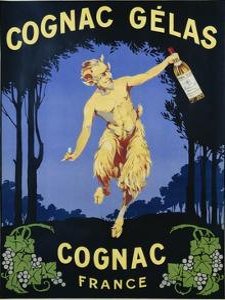Cognac Gelas Poster