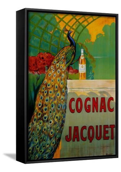 Cognac Jacquet-Camille Bouchet-Framed Canvas Print