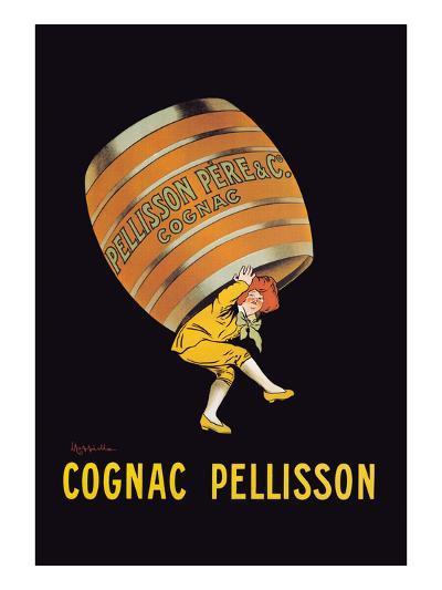 Cognac Pellisson - Barrel-Leonetto Cappiello-Art Print