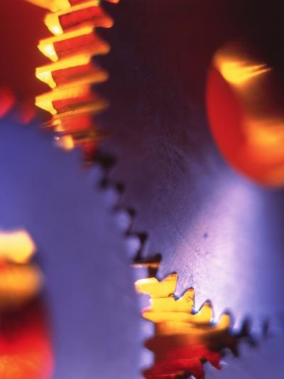Cogs for Use In a Gearing System-Tek Image-Photographic Print