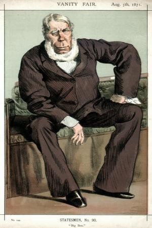 'Big Ben' George Bentinck, British Politician, 1871