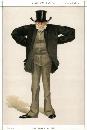 Newcastle on Tyne, Joseph Cowen, British Politician, 1872