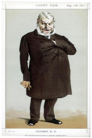 The Only Man Who Is Ever known to Make Mr Gladstone Smile, 1871