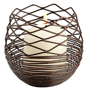 Coiled Silk Candleholder - Large