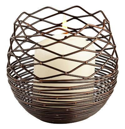Coiled Silk Candleholder - Small--Home Accessories