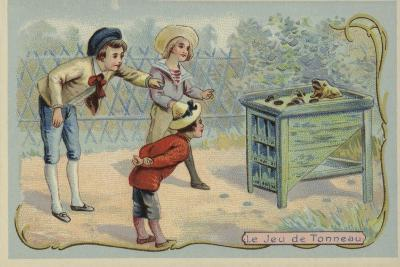 Coin Tossing Game--Giclee Print