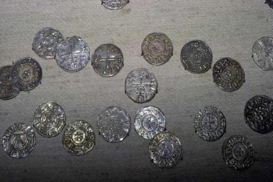 Coins from the Cuerdale Hoard. Artist: Unknown-Unknown-Giclee Print