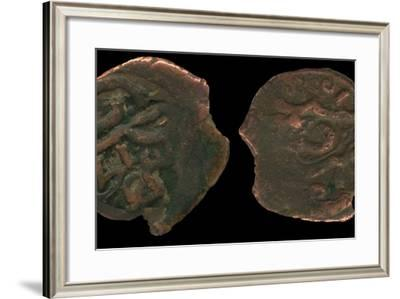 Coins of Uzbeg Khan, Ca 1320--Framed Photographic Print