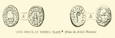 Coins Struck by Pontius Pilate--Giclee Print