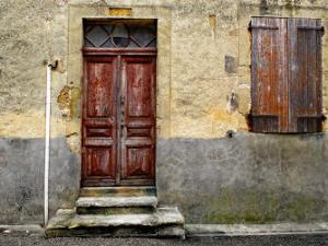 Weathered Doorway IV by Colby Chester