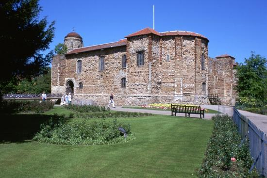 Colchester Castle, 11th century-Unknown-Photographic Print