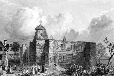 Colchester Castle, Essex, Engraved by John Carr Armytage, 1832-William Henry Bartlett-Giclee Print