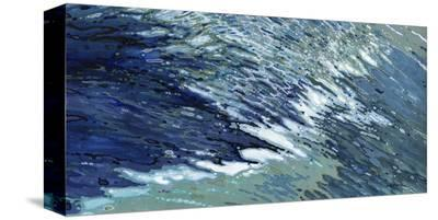 Cold Atlantic Waves-Margaret Juul-Stretched Canvas Print