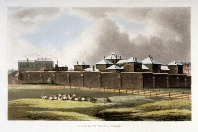 Cold Bath Fields Prison, Finsbury, London, 1814--Giclee Print
