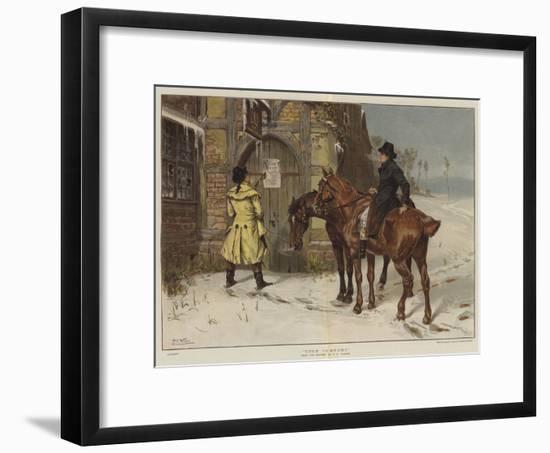 Cold Comfort-Samuel Edmund Waller-Framed Giclee Print
