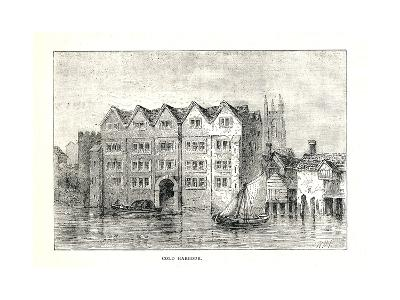 Cold Harbour. Medieval Mansion House North Bank Ofthames Above London Bridge, 1894-Walter Thornbury-Giclee Print