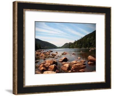 Cold River 1-Lisa Colberg-Framed Art Print