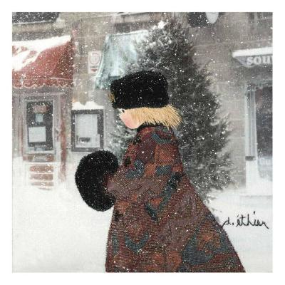 Cold Time I-Diane Ethier-Art Print