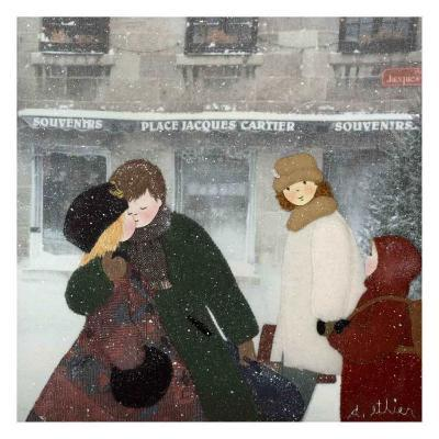 Cold Time II-Diane Ethier-Art Print