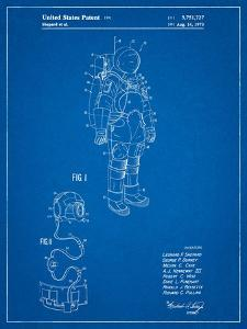 Apollo Space Suit Patent by Cole Borders