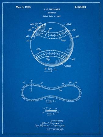 Baseball Stitching Patent by Cole Borders