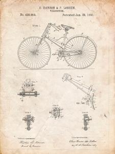 Bicycle 1890 Patent by Cole Borders