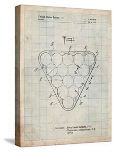 Billiard Ball Rack Patent by Cole Borders